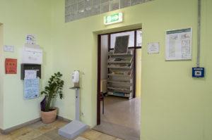 Eingang, Lehrerzimmer, Kerschensteinerschule Hausen